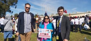 Stephen Dziedzic met with D4B campaign reps in Canberra on Tuesay 13th April 2021 at Parliamant House