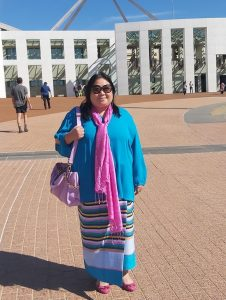 Ying in front of Parliament House (2)